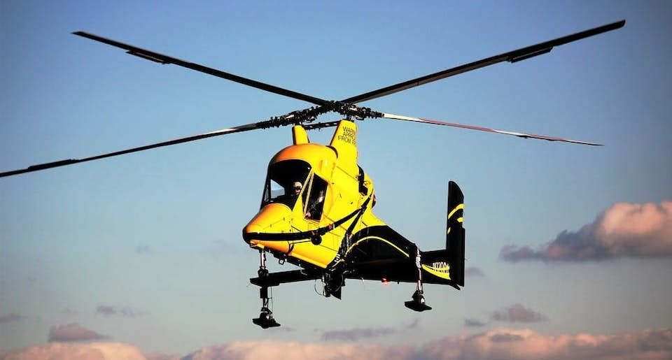 Kaman K-Max K-1200 construction helicopter available from Helicopter Express.