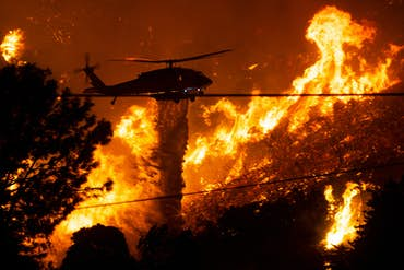 How Search and Rescue Helicopters Are Playing an Integral Role in California's Wildfires
