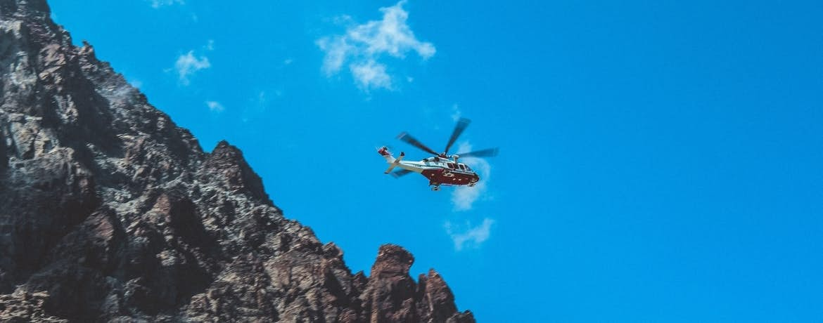 How Helicopters Aid Search and Rescue and Disaster Relief Missions